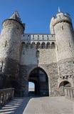 Замок Антверпена - Steen стоковое фото
