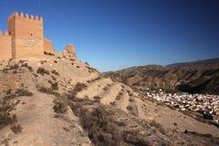 Замок Андалусии Стоковое Изображение