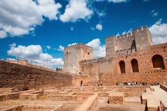Замок Альгамбра Стоковая Фотография