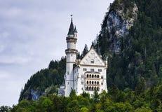 Замок Баварии, Нойшванштайна Стоковые Изображения