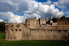 Замок башни, Лондон, Англия стоковые фото
