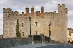 Замок белизн Athy Kildare Ирландия стоковое фото rf