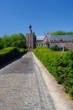 замок Бельгии arenbergh стоковое фото