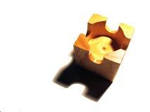 замок блока Стоковая Фотография RF