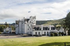 Замок Блэр, замок в Шотландии, Великобритании стоковые изображения