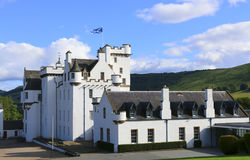 Замок Блэр, Atholl, Шотландия Стоковые Изображения