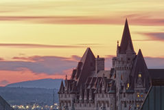 замок более laurier стоковая фотография rf
