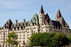 замок более laurier ottawa Стоковое Изображение RF