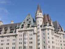 замок более laurier ottawa стоковое изображение