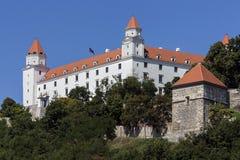 Замок Братиславы - Братислава - Словакия Стоковые Фото