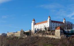 Замок Братиславы, Словакия Стоковые Изображения