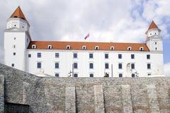 Замок Братиславы Стоковые Изображения