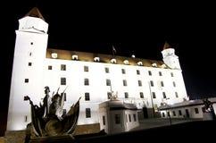 Замок Братиславы Стоковая Фотография