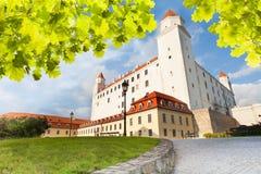 Замок Братиславы Стоковые Фото