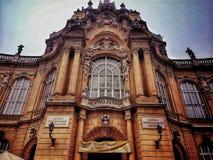Замок Будапешта Венгрии Стоковое Изображение RF