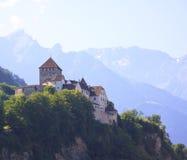Замок Вадуц. Лихтенштейн Стоковое Изображение RF