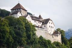 Замок Вадуц, Лихтенштейн Стоковая Фотография