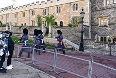 Замок Великобритания Виндзора стоковое фото rf