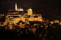 замок Венгрия budapest buda стоковое фото