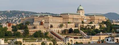 замок Венгрия budapest buda Стоковая Фотография