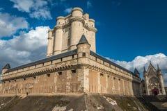 Замок Винсенса в Париже Стоковое Изображение