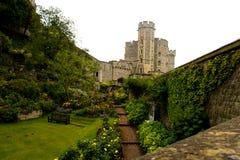 Замок Виндзора около Лондона Стоковая Фотография RF