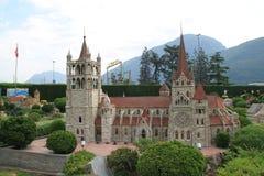 Замок внутри Стоковое Изображение