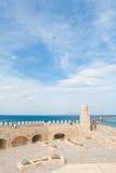 замок воздушных судн летает над venetian стоковое фото