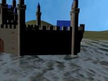 Замок воды акции видеоматериалы