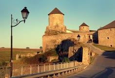 замок времени старый Стоковые Фотографии RF