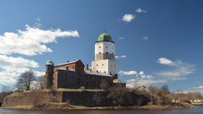 Замок Выборга Стоковые Фото