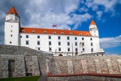 Замок в Братиславе - столице Словакии Стоковая Фотография