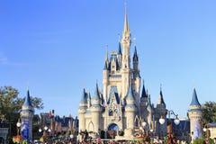 Замок в волшебном королевстве, Дисней Золушкы, Орландо, Флорида Стоковые Изображения