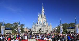 Замок в волшебном королевстве, Дисней Золушкы, Орландо, Флорида Стоковые Фото