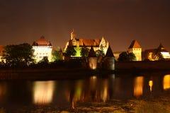 Замок в Мальборке Стоковые Фотографии RF
