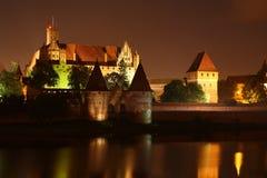 Замок в Мальборке Стоковое Изображение