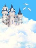Замок в небе Стоковые Фотографии RF