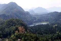 Замок в древесинах стоковые фото