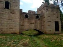 Замок в середине Ruidoso Неш-Мексико Стоковое Фото