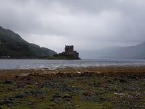 Замок в Шотландии стоковое фото rf