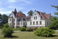 Замок в эклектичном стиле Стоковое Изображение
