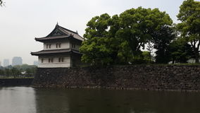 Замок в Японии Стоковая Фотография