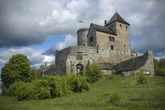Замок в Bedzin, Польша стоковые изображения