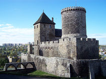 Замок в Bedzin (Польша) стоковое изображение rf