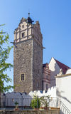 Замок в Bernburg, Германии Стоковые Фото