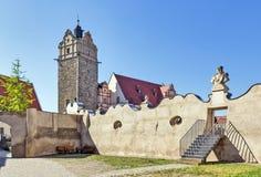Замок в Bernburg, Германии Стоковые Изображения RF
