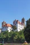 Замок в Bernburg, Германии Стоковое Фото