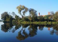 Замок в Czers Стоковая Фотография