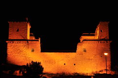 Замок в Diosgyor, городе Miskolc Стоковое Фото