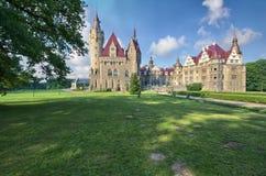 Замок в Moszna Стоковые Изображения RF